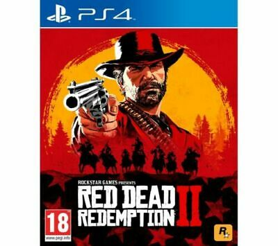 RED DEAD REDEMPTION 2 - PS4 - MINT - Super Fast Delivery