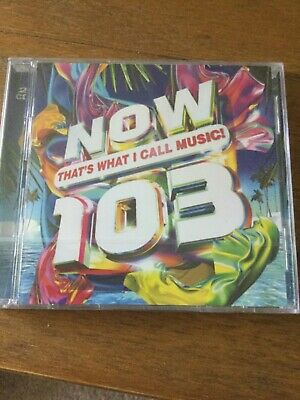 NOW THAT'S WHAT I CALL MUSIC 103 2 CD (NOW 103) - VARIOUS (Released 19th July)