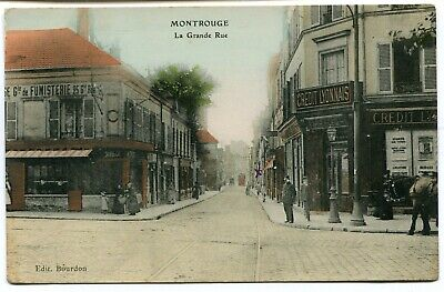 CPA - Carte Postale - France - Montrouge - La Grande Rue (I9804)