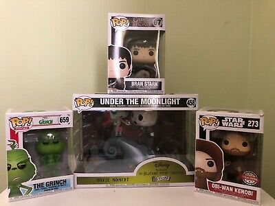 Lot of 4  New In-Box Funko POP! - Star Wars, Game of Thrones, more (7)
