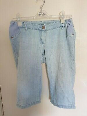 Next Maternity Denim Shorts Size 8