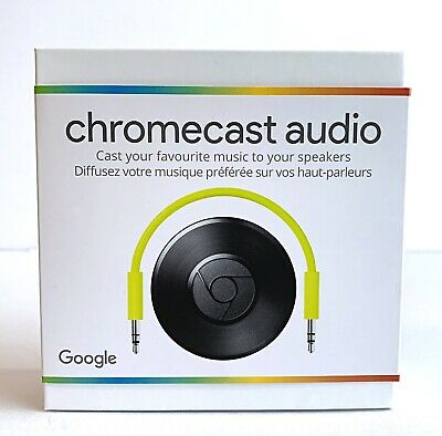 Google Chromecast Audio Media Streamer - New Sealed