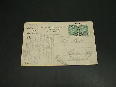 Egypt 1912 Port Said picture postcard to Germany *29980