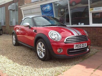 2012 12 MINI COOPER Coupe. Finance And Part Ex
