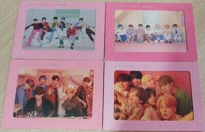 BTS MAP OF THE SOUL PERSONA BIGHIT all 4 set  AURORA PHOTO FRAME bangtan boys