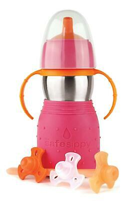 Safe Sippy 2 Drinking Bottle Pink