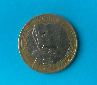 2008 Olympic Handover Beijing to London 2012 £ 2 Coin Two Pound Rare Circulated