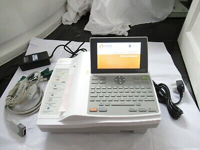 Cardiac Burdick 8500 Ecg/Ekg Interpretive Electrocardiograph Cardiograph Machine