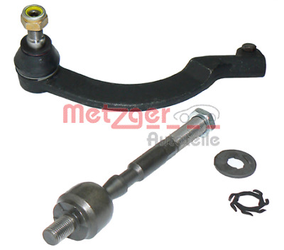 Metzger 56017111 Tie Rod End Linkage FRONT LEFT Renault Master Vauxhall Movano
