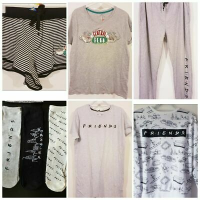 Friends Central Park Tv Pyjamas Loungewear Joggling Bottoms T-Shirt Shorts  Sock