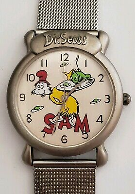 Wristwatch Dr Seuss  Sam I Am  1997
