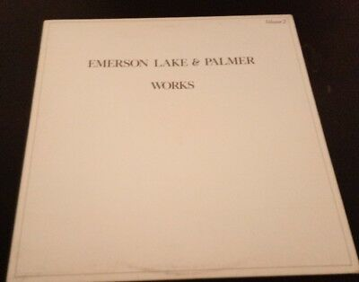 EMERSON LAKE & PALMER (ELP) ~ WORKS Vol. 2 (Exc. Sound *BUY 1 ALBUM, GET 1 FREE*