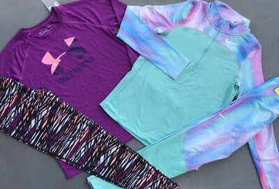 Girls Xl (18/20) Under Armour/Nike Shirt/Leggings Winter Outfits Lot Nwt