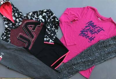 Girls Xl (18/20) Under Armour/Nike Hoodie/Shirt Pants Leggings Outfit Nwt