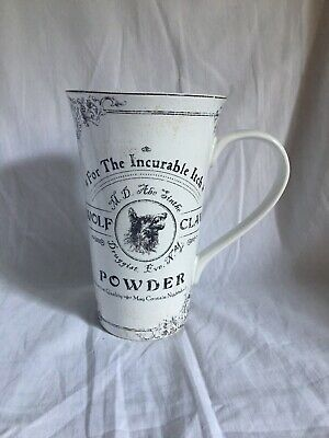New 222 Fifth Apothecary Wolf Claw Tall Latte Coffee Mug Halloween