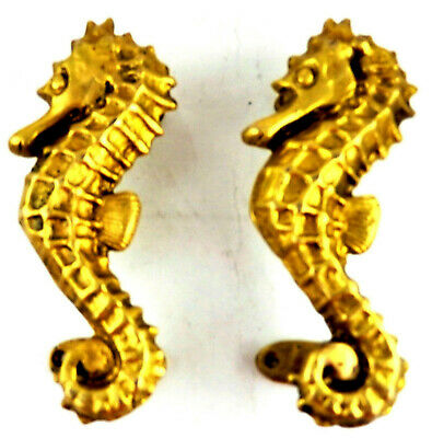 Dragon Shape Antique Vintage Style Handmade Solid Brass Door Pull Handle Knob I9