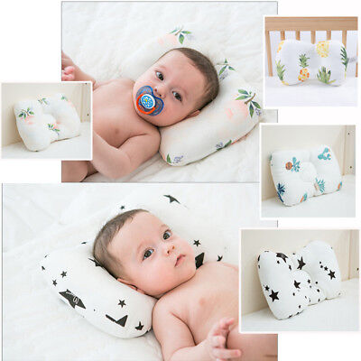 Baby Infant Newborn Pillow Flat Head Sleeping Positione Support Cushion Prevent