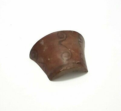 Pre Columbian Painted Pottery Jar/Bowl/Pot Mayan Clay/Ceramic Vessel Fragment