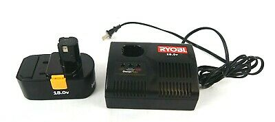 RYOBI 1423701 ChargePlus+ 18.0v Battery AC Charger Use w/Battery 1322401 1323303