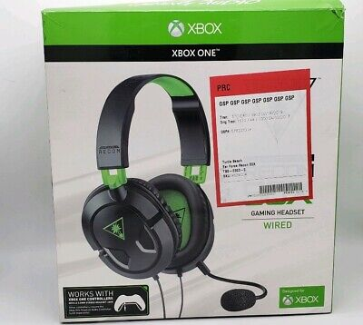 Turtle Beach Recon 50X Stereo Gaming Headset Headphones Xbox One pre-owned