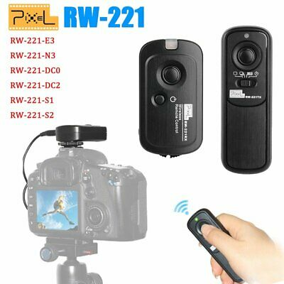 Pixel RW-221 Wireless Shutter Release Remote Control For Sony Canon Nikon Camera