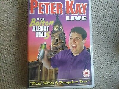 peter kay live at the Bolton Albert Halls dvd freepost in good condition