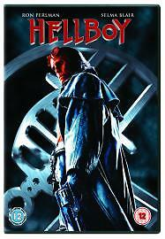 Hellboy (DVD, 2005, 2-Disc Set) freepost in very good condition