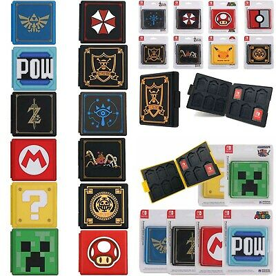 For Nintendo Switch Game Card Case Holder Storage Box Travel Carry Protector AU