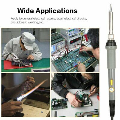 Temperature Adjust Electric Soldering Iron Kit Switch Power Soldering Station~