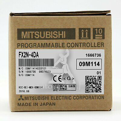 1PC Mitsubishi PLC FX2N-4DA Programmable Controller One year warranty