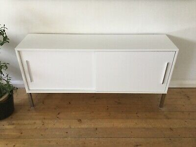 Ikea Torsby Sideboard White High Gloss 35 00 Picclick Uk