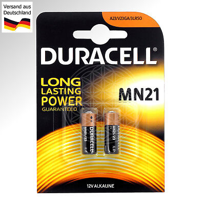 4 Duracell 12 Volt Pile Alcaline MN21 23AE LR 23 A 23S L1028 Type A23 LRV08 V