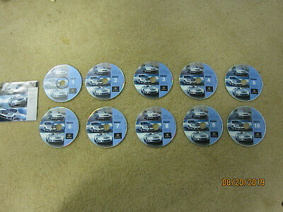Complete Set of Series 1/04 Navigation CDs - Mercedes 2004 SL500