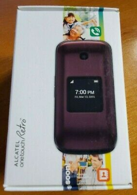 COOLPAD SNAP 3312A Sprint Android 4G LTE Flip Phone 9/10