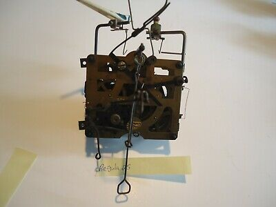 Vintage Regula 25 Cuckoo Clock Movement With Bird and Man for parts or repair W