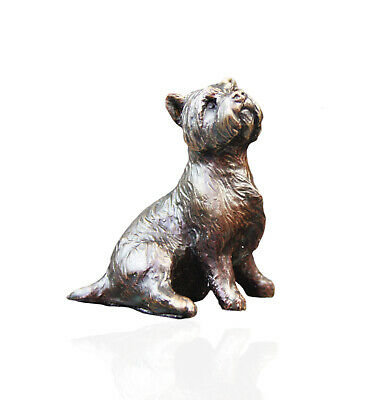 Michael Simpson Bronze Labrador Dog With Lead 630g Limited Edition 250