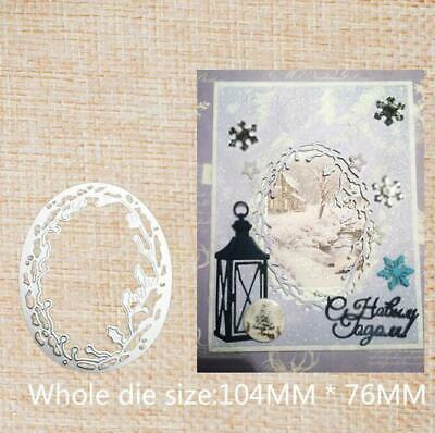 Metal Cutting Dies Stencils Scrapbooking Paper Cards Craft Decoration Christmas
