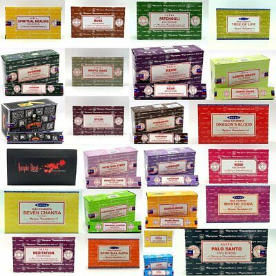 Fresh Nag SATYA Incense Sticks Champa Home Scents Hem Fragrance Bulk Pack 15x15g