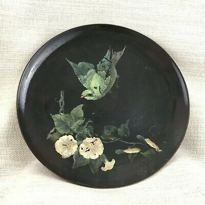 1877 Antique Minton Pottery Charger Large Plate Victorian Victorian Aesthetic