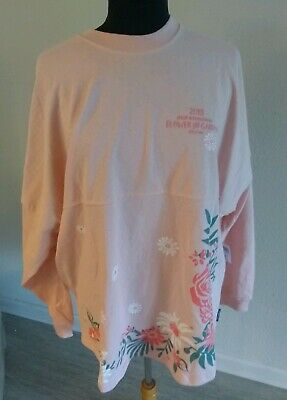 Nwt 2019 Disney Epcot Flower & Garden Festival Spirit Jersey Minnie Party L
