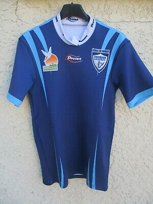 Maillot rugby COLOMIERS Proact shirt sans sponsor collection moulant S