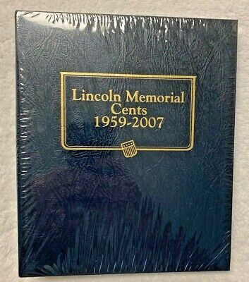 Whitman Lincoln Memorial Cents Album 1959-2007 (#9141) ~ BRAND NEW & SEALED