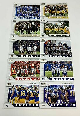 2019 SCORE Huddle Up - You Pick - All Cards 99¢ - Buy 3 Get 2 FREE