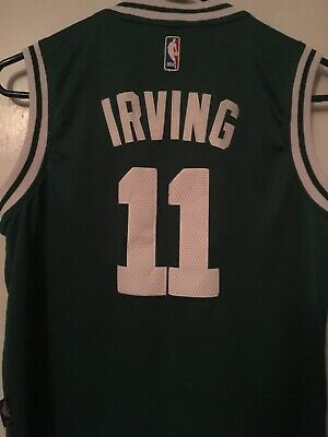 innovative design ded7e 3773a KYRIE IRVING BOSTON Celtics #11 NBA Green Boys T-Shirt ...