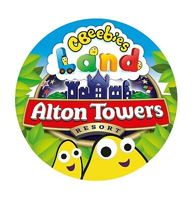 2 Alton Towers Scarefest Tickets for Sunday 13th October 2019 13/10/19