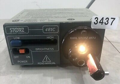 Karl Storz 481C Miniature Light Source 3437
