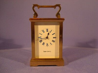 Mappin And Webb Ltd,  Brass Carriage Clock, No C1552