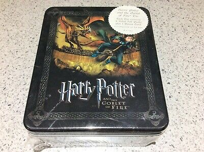 Harry Potter Goblet of Fire ARTBOX LIMITED EDITION TRADING CARDS TIN SET Sealed