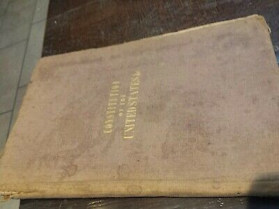 1854 The Constitution of United States ect