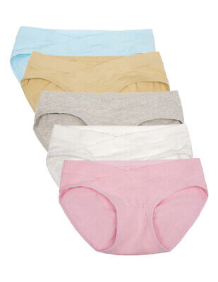 3PCS Womens Pregnant Maternity Mother Shorts Underwear Underpants Helper Panties